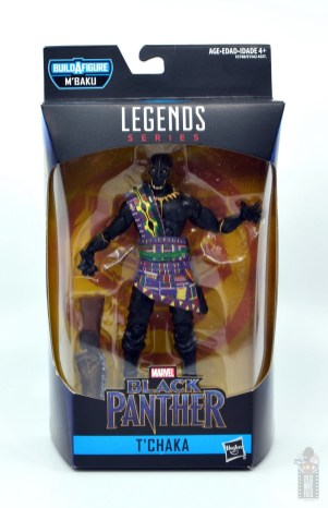 marvel legends black panther t'chaka figure review - package front