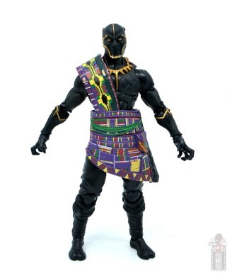 marvel legends black panther t'chaka figure review - wide stance