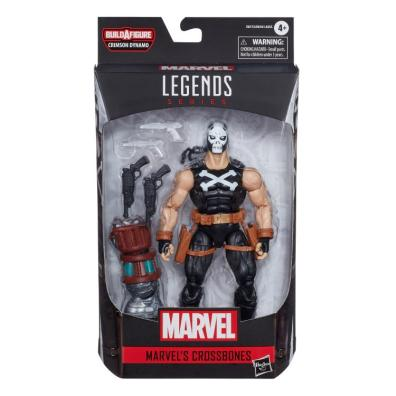 marvel legends black widow wave - crossbones package