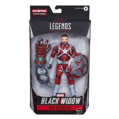 marvel legends black widow wave - red guardian package