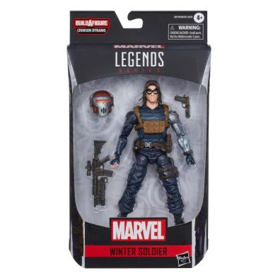 marvel legends black widow wave - the winter soldier package