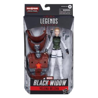 marvel legends black widow wave - yelena package