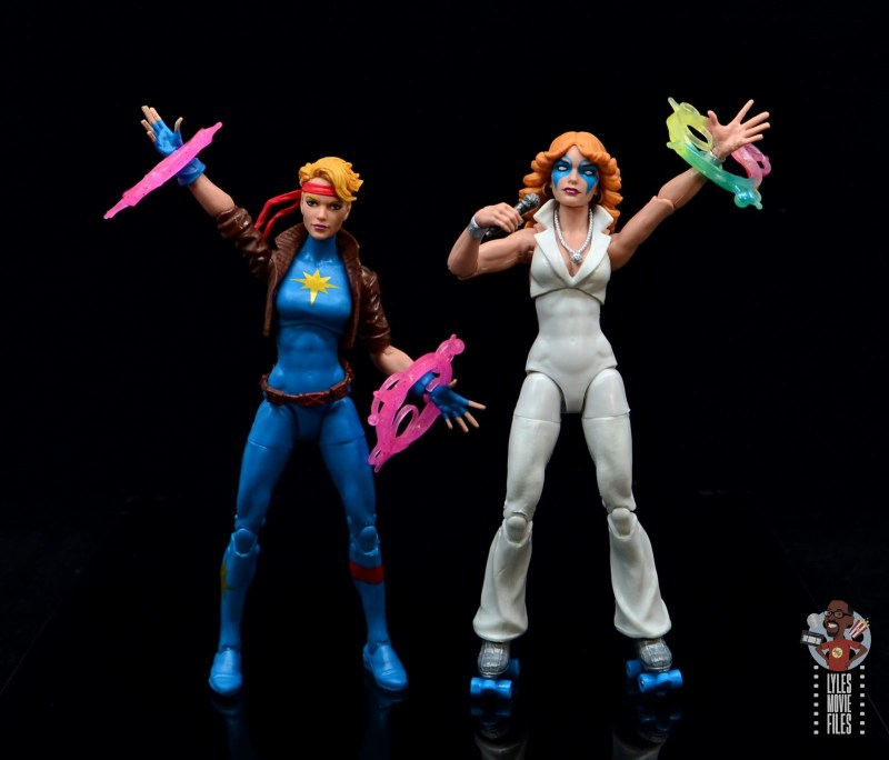 marvel legends dazzler figure review - razzle dazzle with first hasbro dazzler