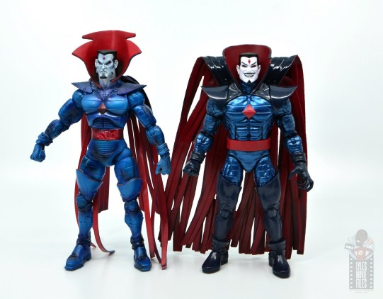 marvel legends mister sinister figure review - with Toy Biz Mister Sinister