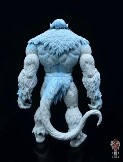 marvel legends wendigo figure review - rear