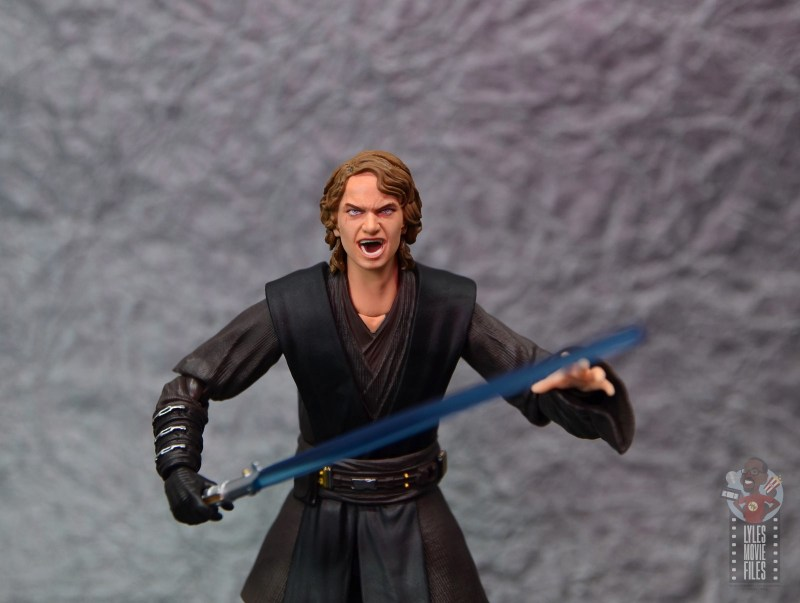 sh figuarts anakin skywalker revenge of the sith figure review -angry head