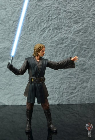 sh figuarts anakin skywalker revenge of the sith figure review -force push