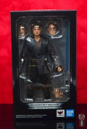 sh figuarts anakin skywalker revenge of the sith figure review -package front