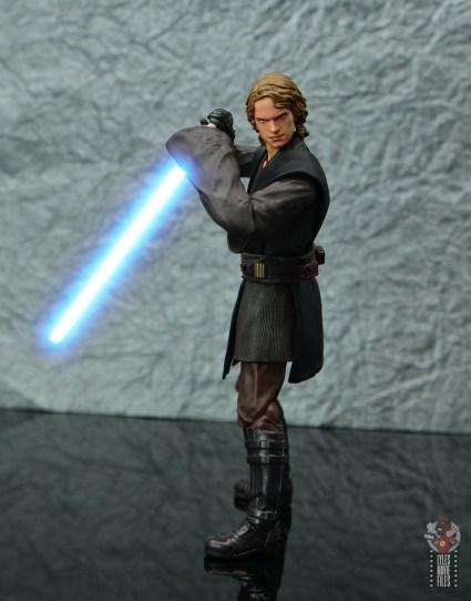 sh figuarts anakin skywalker revenge of the sith figure review -pivoting lightsaber