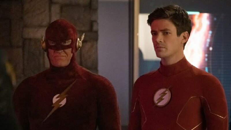 the flash - crisis on infinite earths part 3 review - earth-90 flash and barry