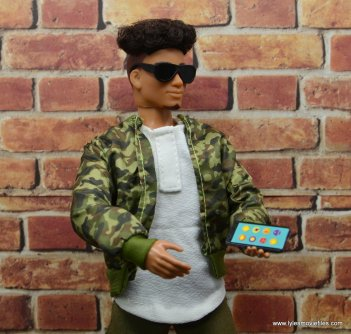 the fresh squad daniel figure review -holding phone