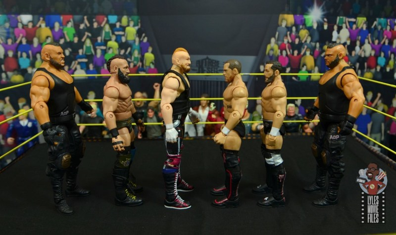 wwe alexander wolfe figure review - facing authors of pain and undisputed era