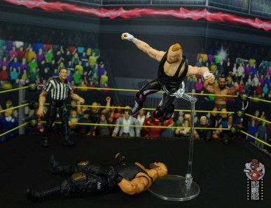 wwe alexander wolfe figure review - flying knee smash