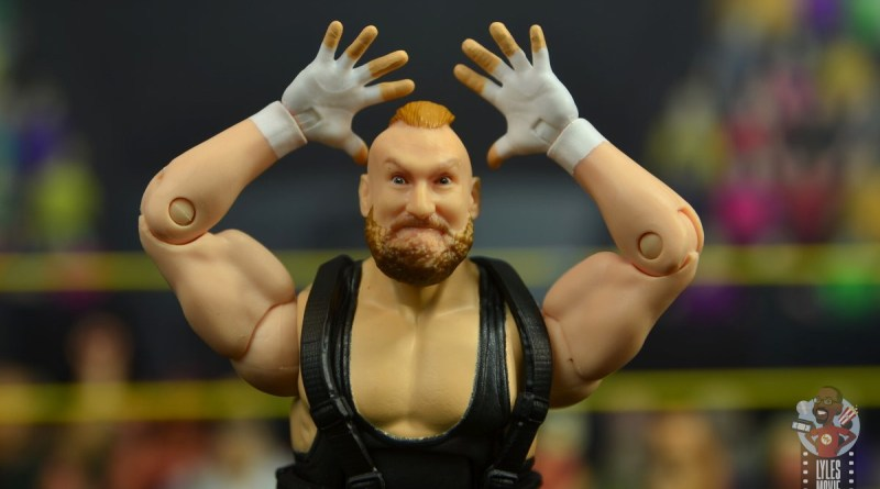 wwe alexander wolfe figure review - main pic
