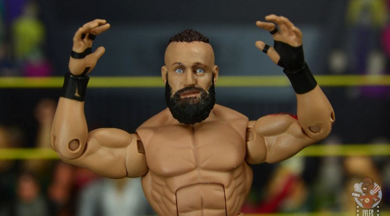 wwe elite 65 eric young figure review -main pic