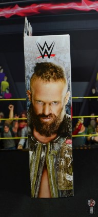 wwe elite 65 eric young figure review - package side