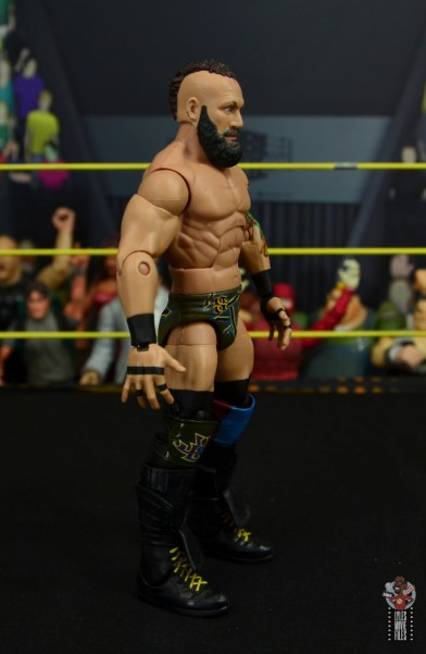 wwe elite 65 eric young figure review - right side