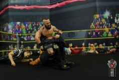 wwe elite 65 eric young figure review - scorpion to adam cole