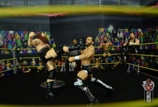 wwe elite killian dain figure review -bicycle kick to bobby fish