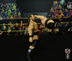 wwe elite killian dain figure review - crossbody block to adam cole