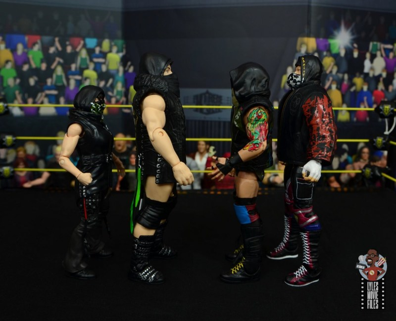 wwe elite killian dain figure review -facing sanity