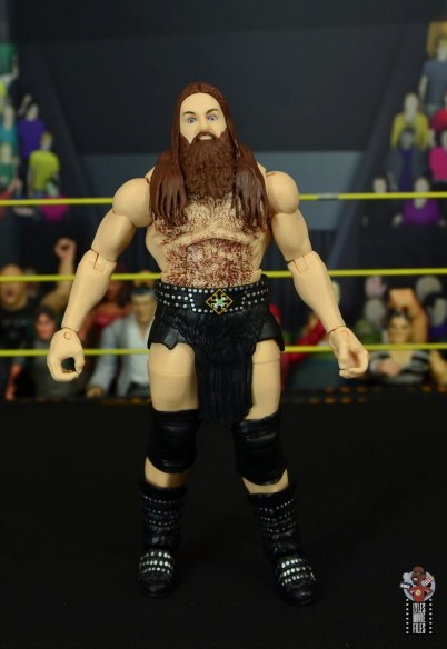 wwe elite killian dain figure review - front