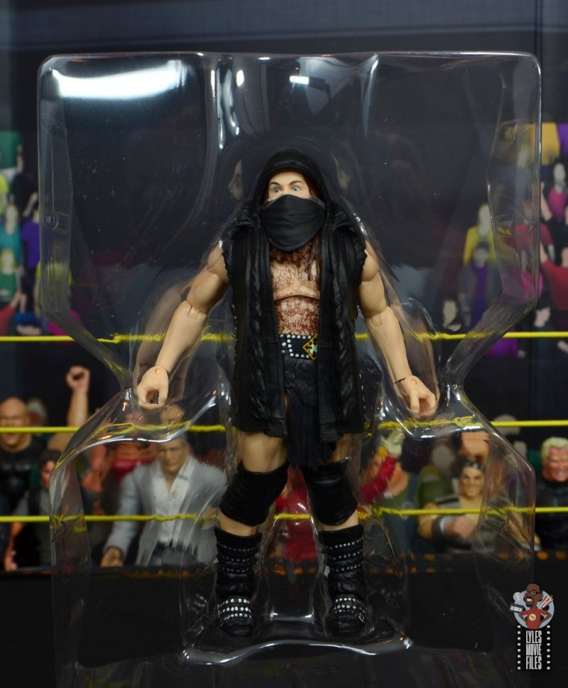 wwe elite killian dain figure review - in tray