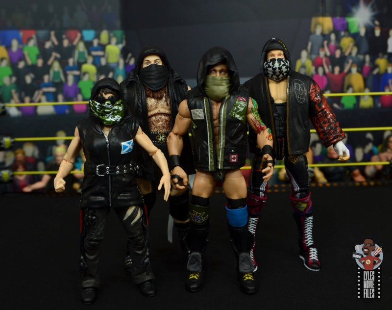 wwe elite killian dain figure review -sanity