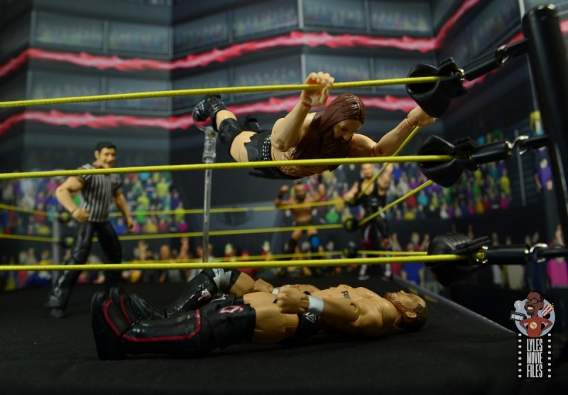 wwe elite killian dain figure review - vader bomb to undisputed era