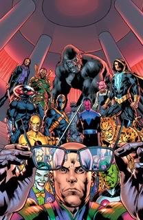 Superman Villains #1 -cover
