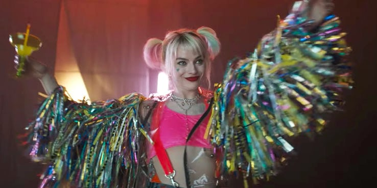 birds of prey and harley quinn - margot robbie