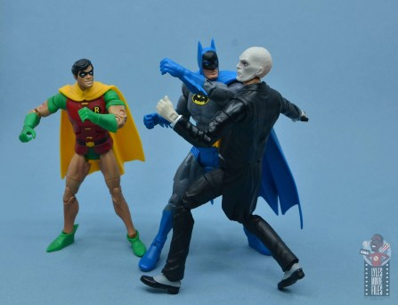 dc multiverse alfred figure review - vs batman and robin