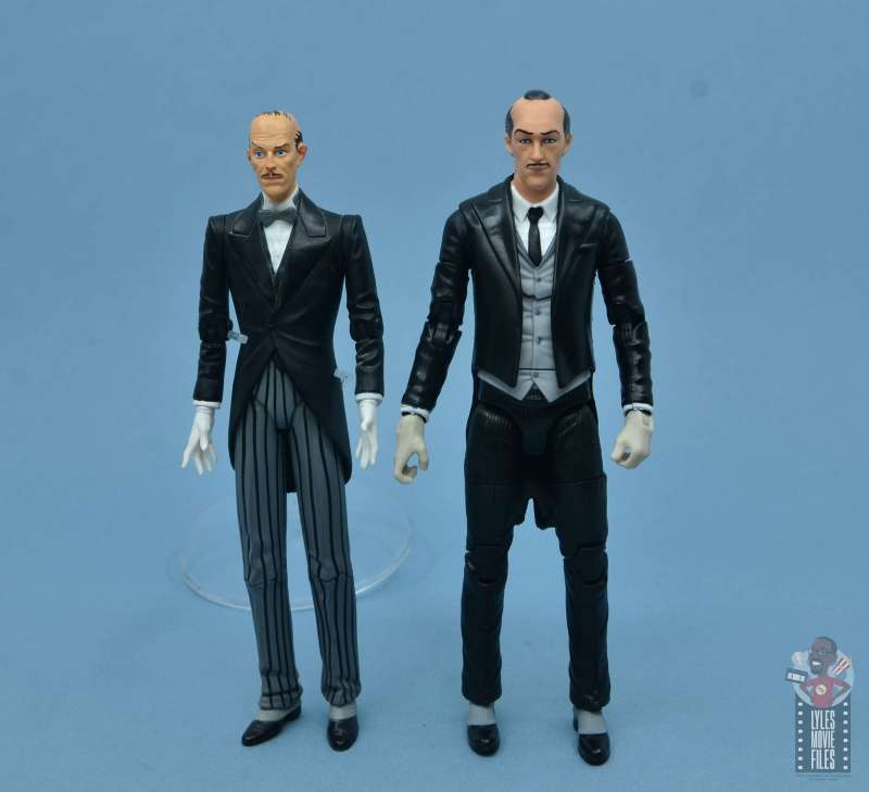 dc multiverse alfred figure review - with hush alfred