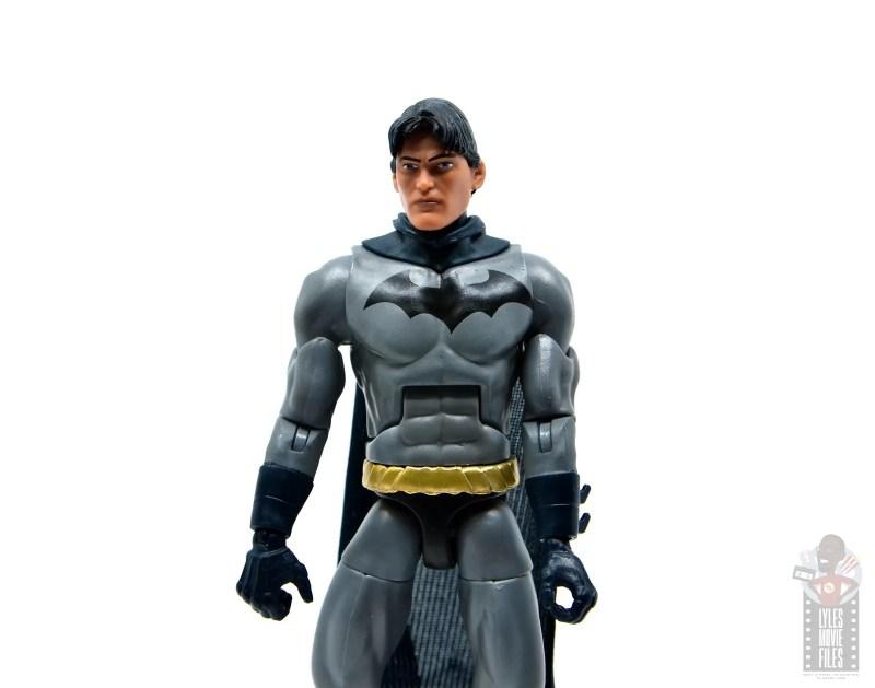 dc multiverse dick grayson batman figure review - dick grayson head
