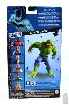 dc multiverse dick grayson batman figure review - package rear