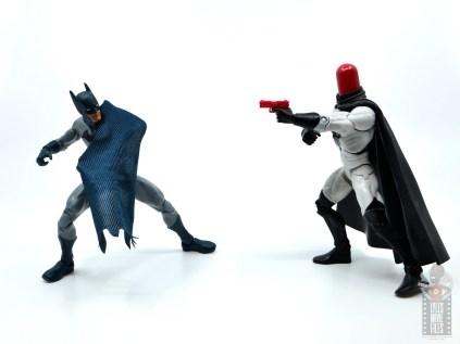 dc multiverse dick grayson batman figure review -vs red hood
