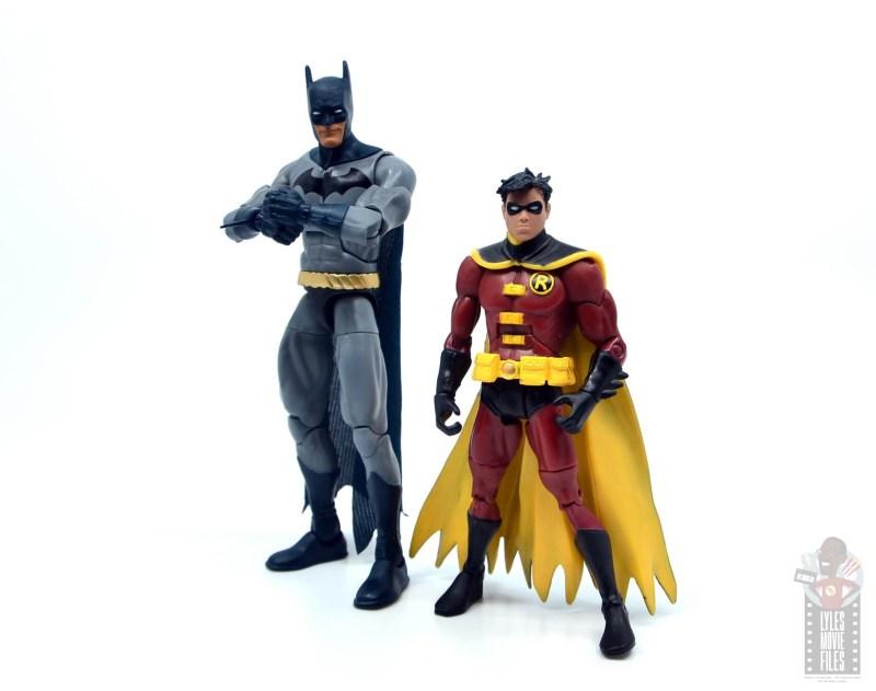 dc multiverse dick grayson batman figure review - with robin