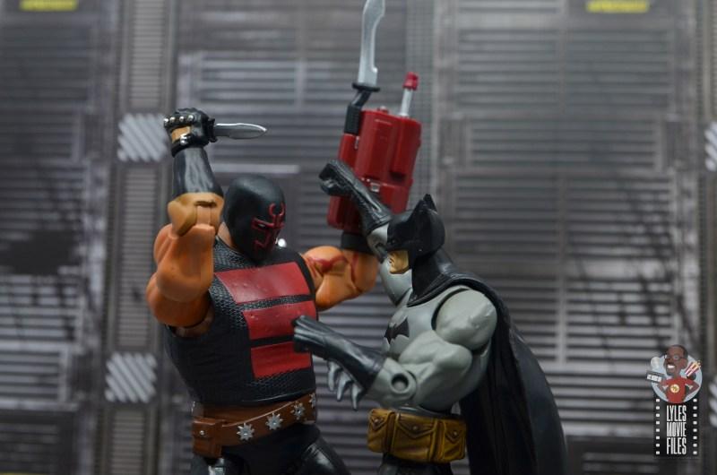 dc multiverse kgbeast figure review - closing in on batman