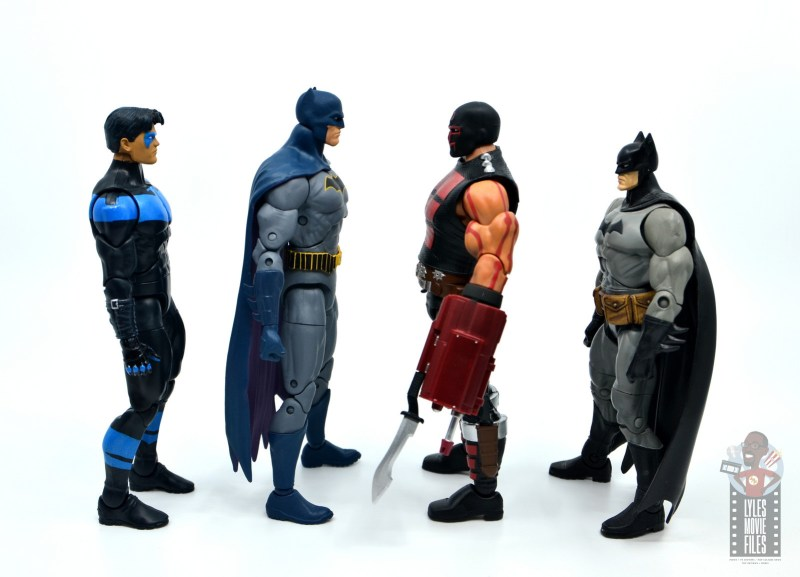 dc multiverse kgbeast figure review - facing nightwing, batmen