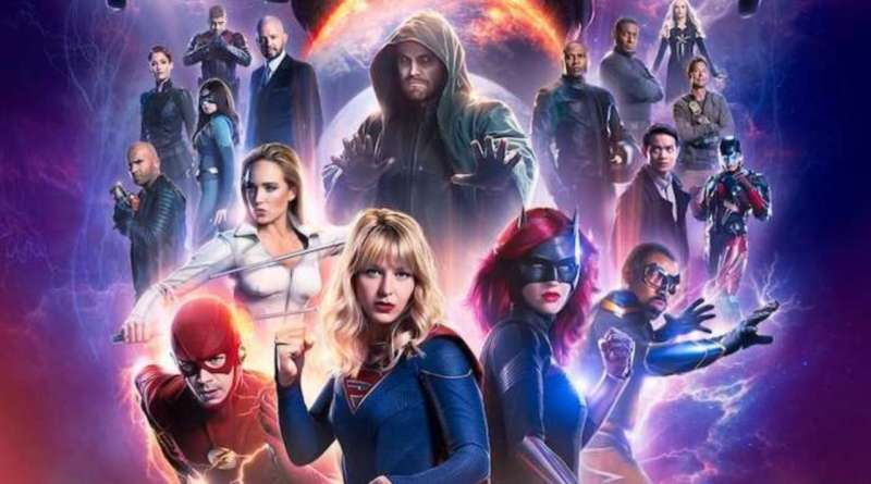 dc's legends of tomorrow - crisis on infinite earths part 5 -finale poster