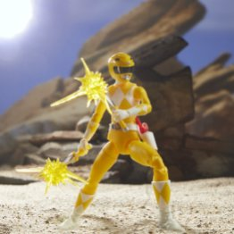 lightning collection yellow ranger - action stance