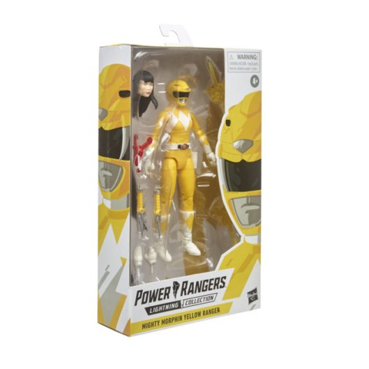 lightning collection yellow ranger -package