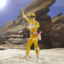 lightning collection yellow ranger - pose