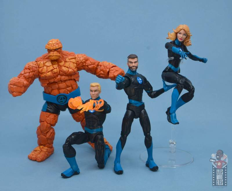 marvel legends invisible woman figure review - fantastic four in action