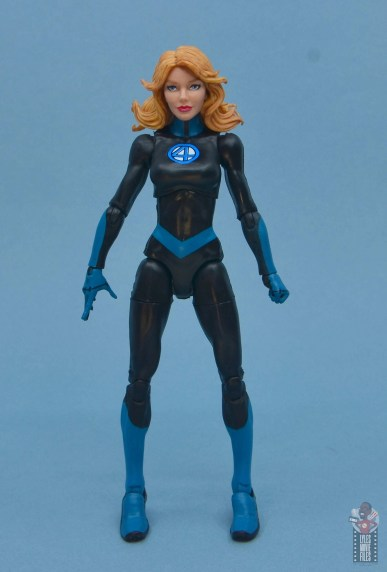 marvel legends invisible woman figure review - front