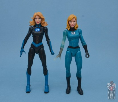 marvel legends invisible woman figure review - with walgreens invisible woman