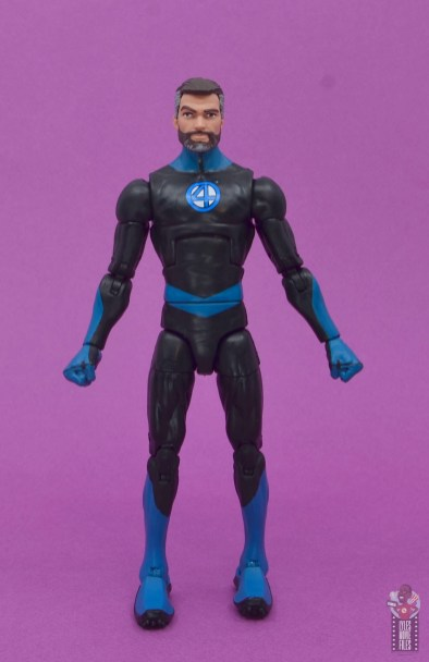 marvel legends mister fantastic figure review - front