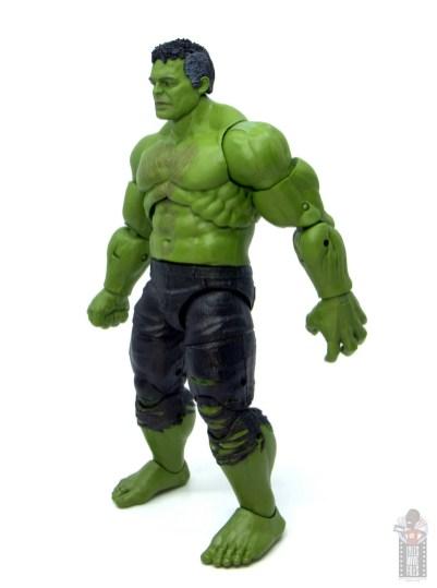 marvel legends smart hulk figure review - left side