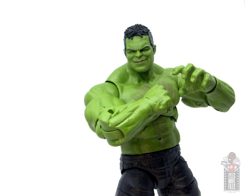 marvel legends smart hulk figure review - ready for a fight
