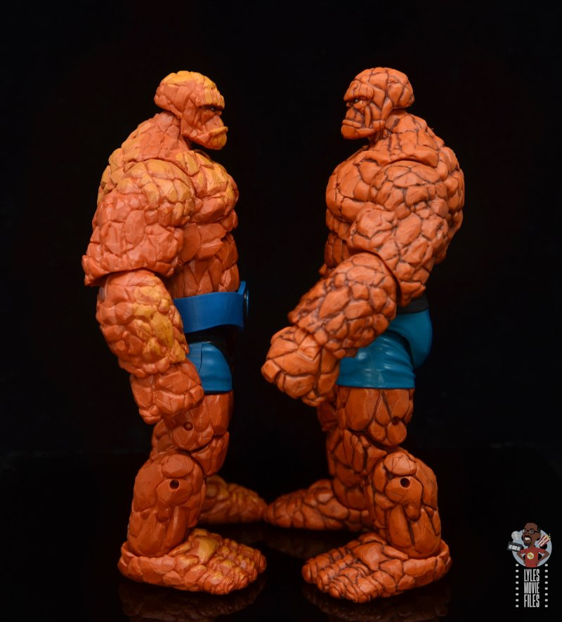 marvel legends the thing figure review - facing 2018 thing
